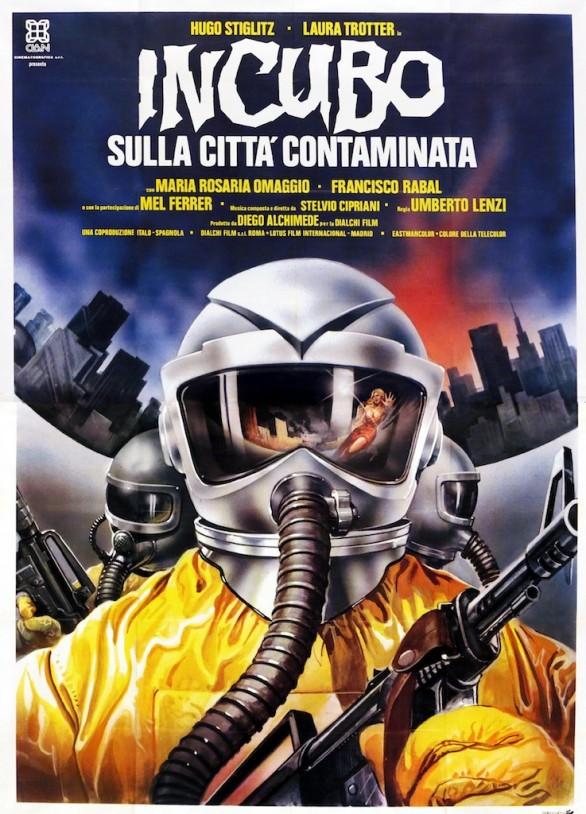 Risultati immagini per incubo sulla cittò contaminata film 1980