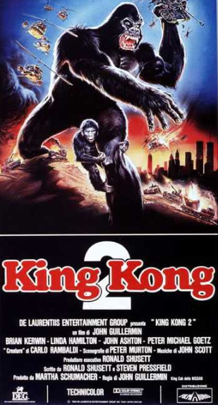 KING KONG 2 - recensione