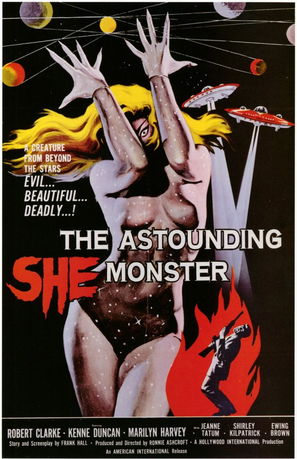 ASTOUNDING  SHE-MONSTER (THE) - recensione