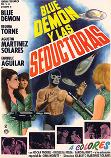 BLUE DEMON Y LAS SEDUCTORAS