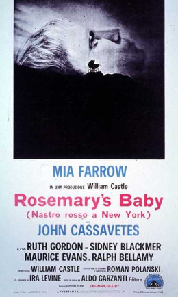 ROSEMARY'S BABY / NASTRO ROSSO A NEW YORK
